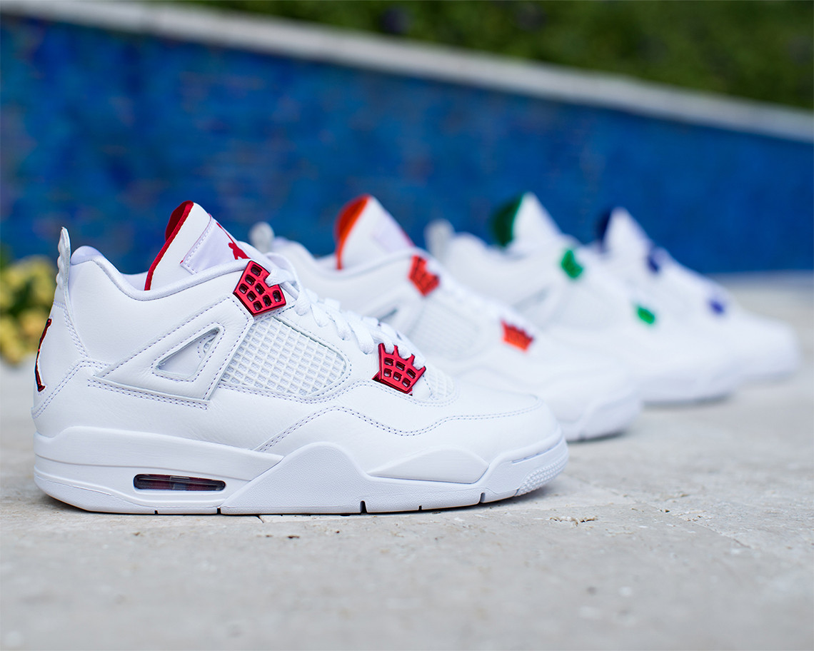 Air Jordan 4 Metallic
